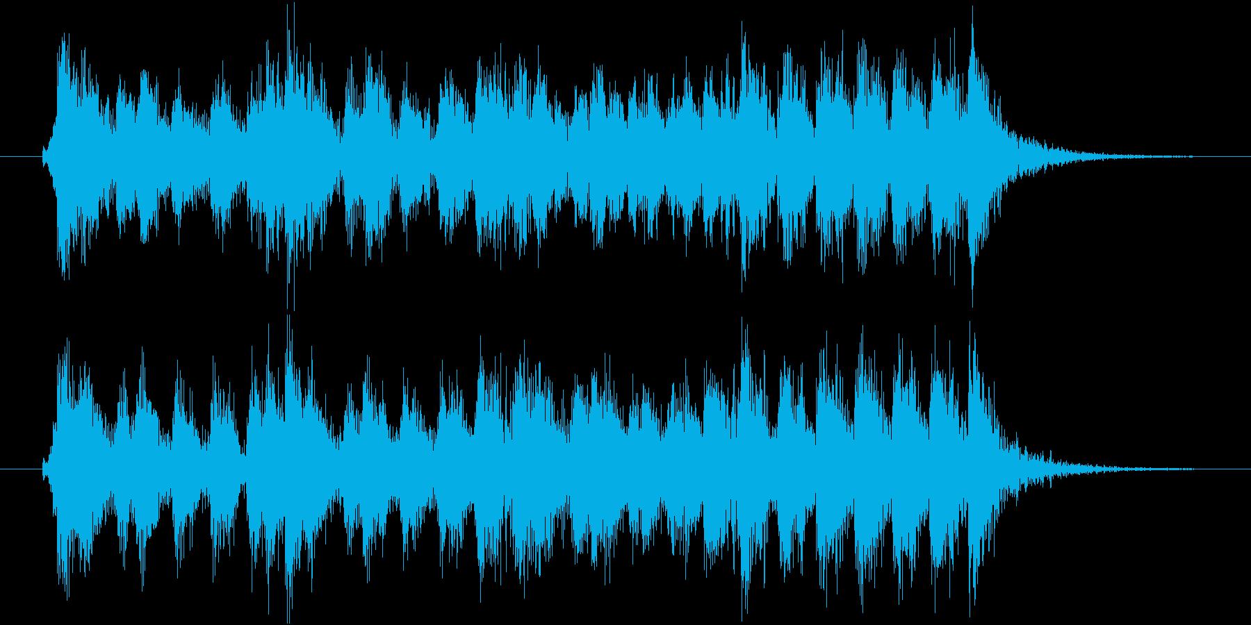 重厚なストリングスのオープニングジングルの再生済みの波形