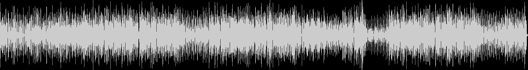 トランペットが歌う明るいエレクトロポップの未再生の波形