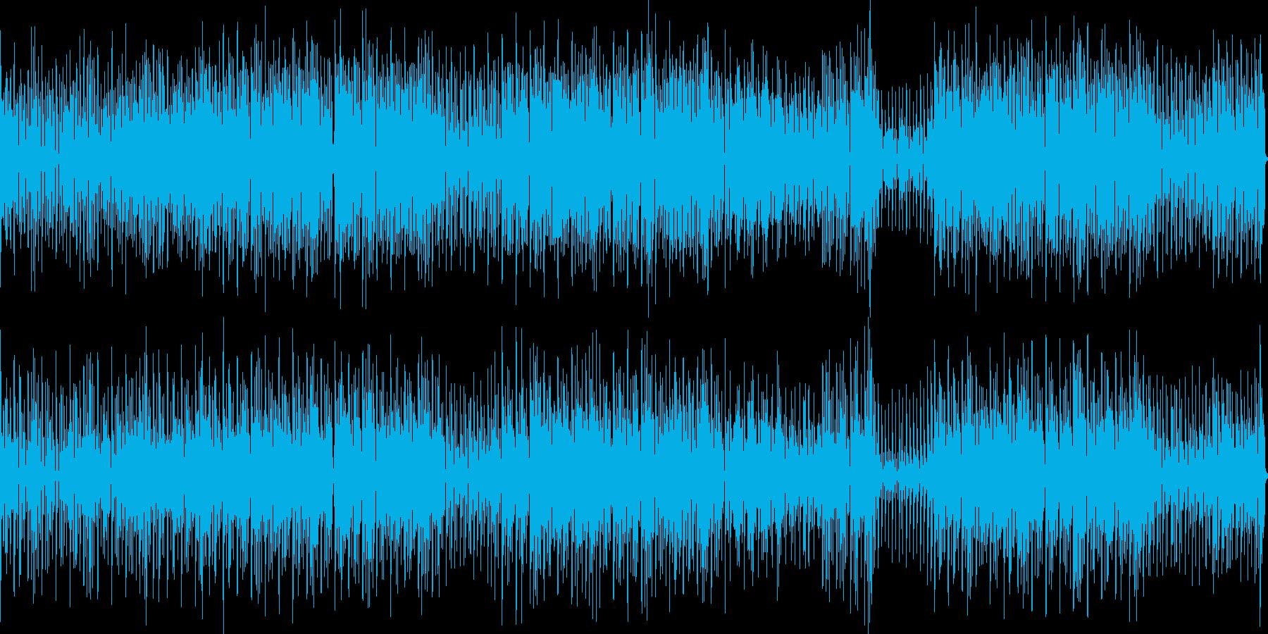 トランペットが歌う明るいエレクトロポップの再生済みの波形