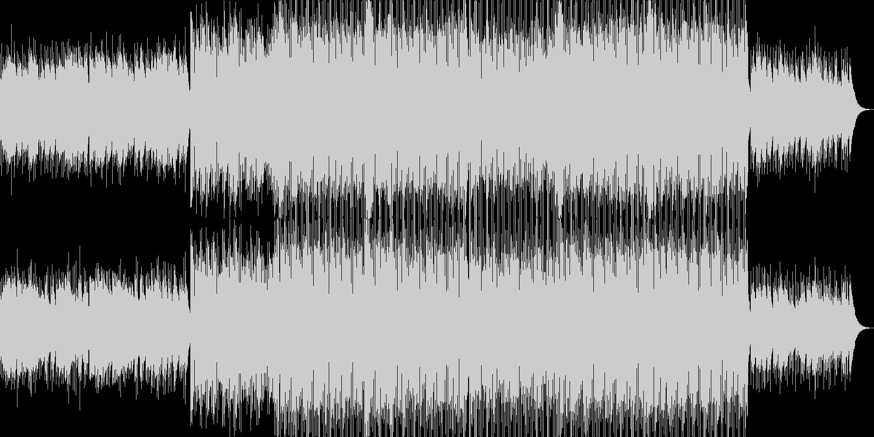 ベル系が多いキラキラした落ち着いた曲の未再生の波形