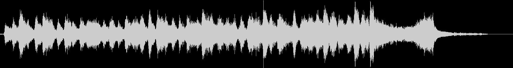 生演奏:軽やかな弦楽四重奏&ピアノの未再生の波形