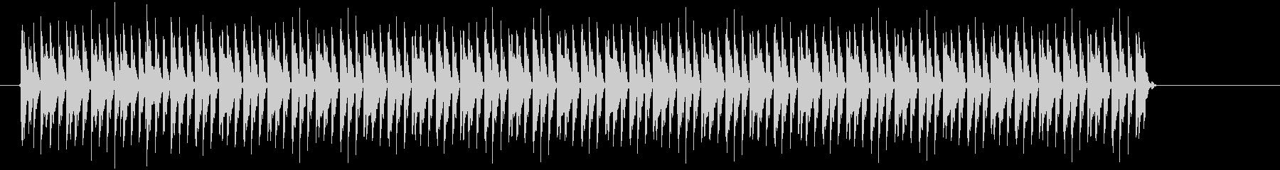 チリチリとピョコピョコの複合音の未再生の波形