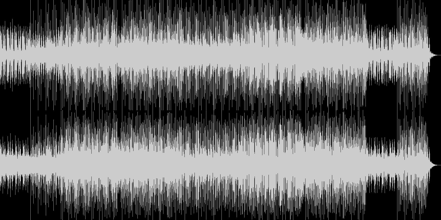 8bit風シンセ音が奏でる切ないメロディの未再生の波形