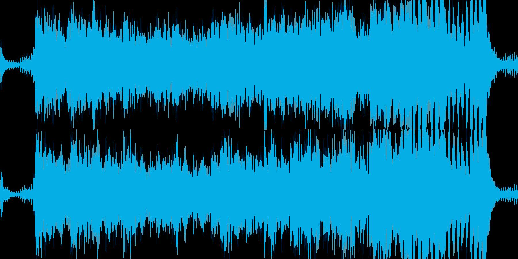 ロールプレイングゲームのオープニングの再生済みの波形