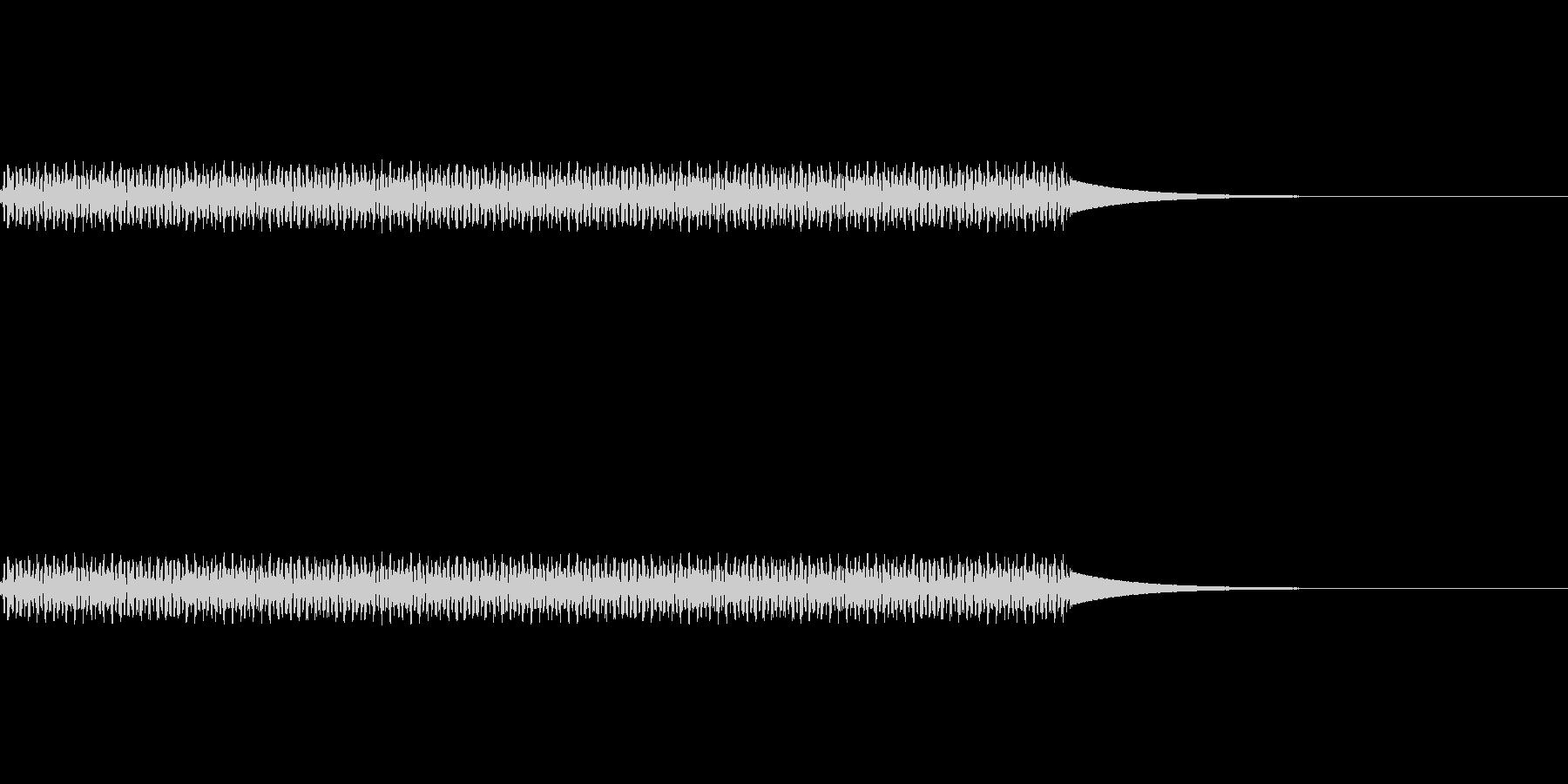 電話/ボタン/押す/プッ/タイプ4の未再生の波形