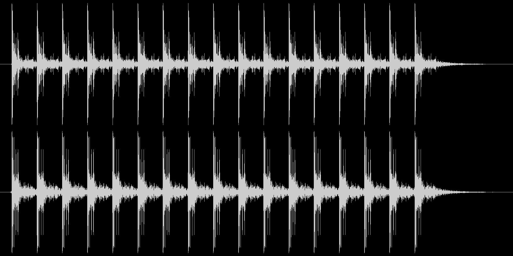 電気が走る ビビビビ…(スタンガンなど)の未再生の波形