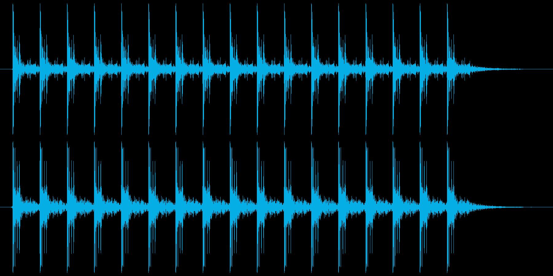 電気が走る ビビビビ…(スタンガンなど)の再生済みの波形