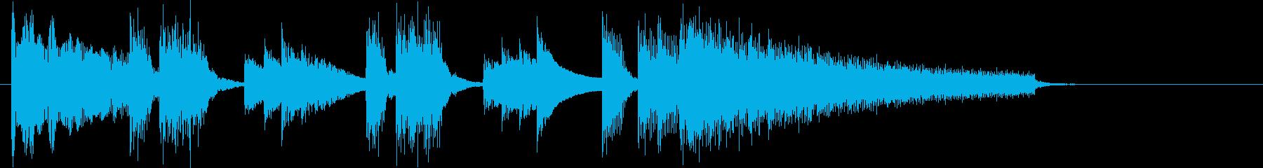 脱力系のシンセポップスの再生済みの波形
