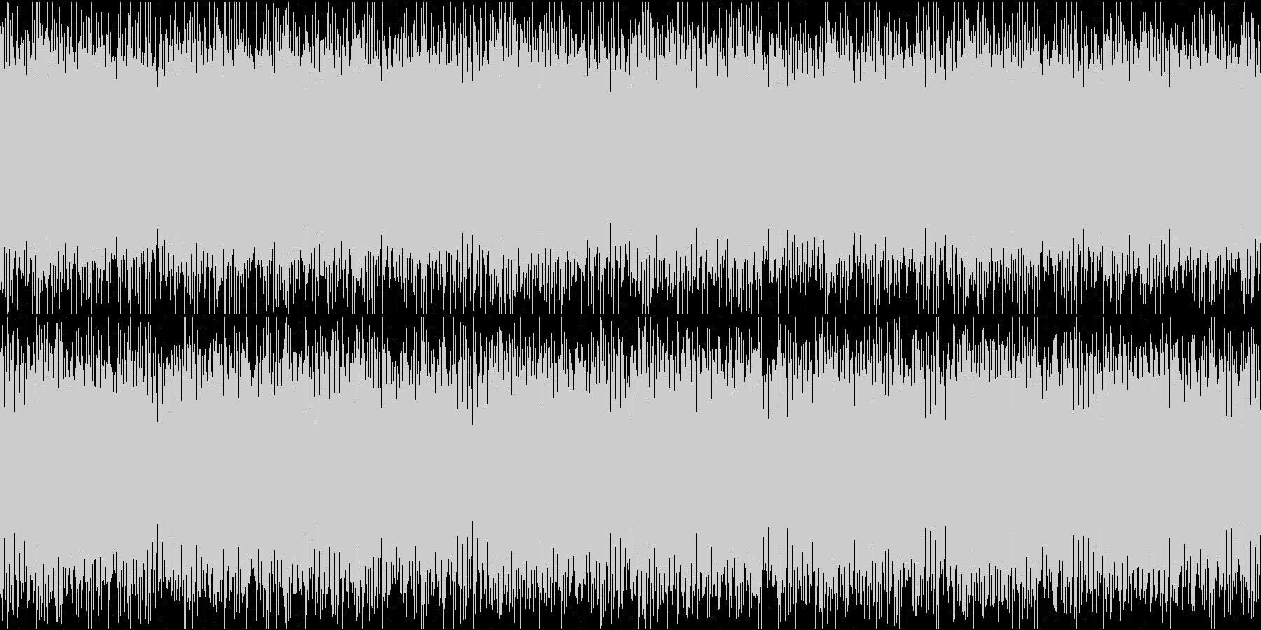 軽快でかわいいエレクトロループの未再生の波形
