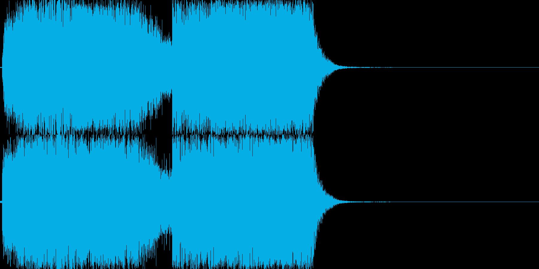 ビリビリ!(電気、電子、特殊魔法)04の再生済みの波形