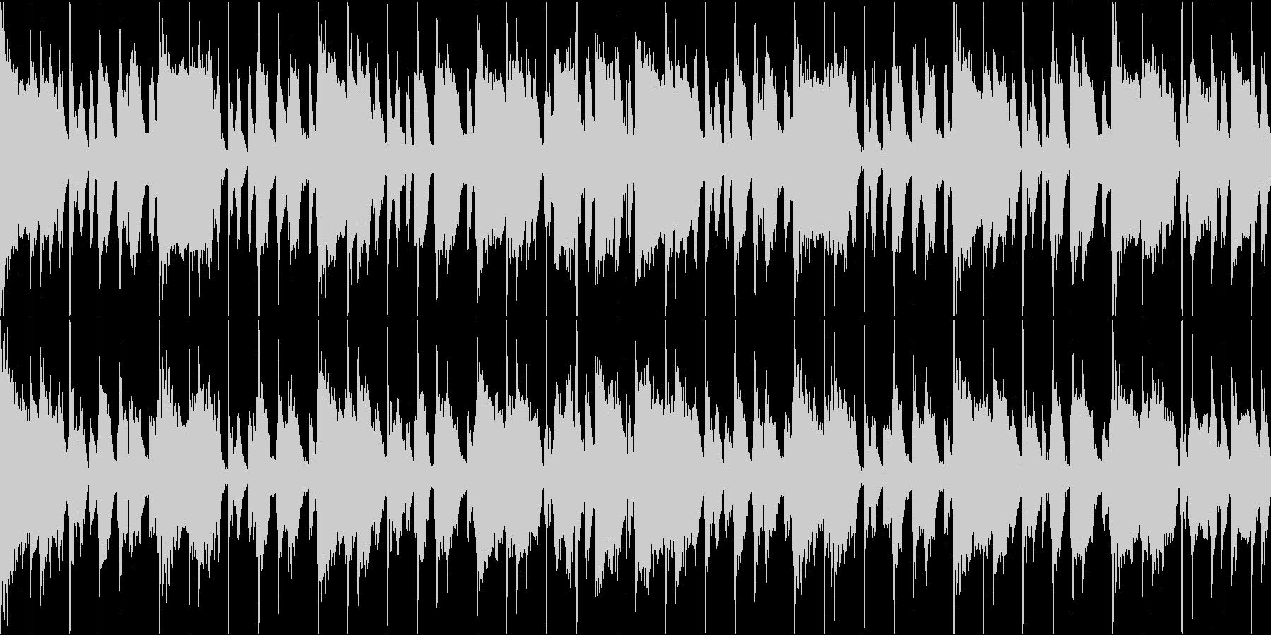 ファンク ループ 生演奏の未再生の波形