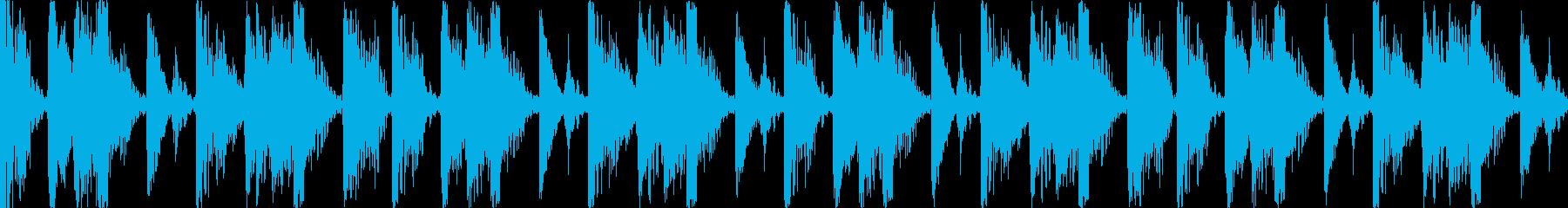 【ループA】ファンキーなブレイクビーツの再生済みの波形