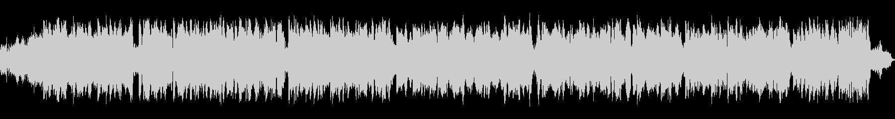 サーカス等の手回しオルガン風楽曲の未再生の波形