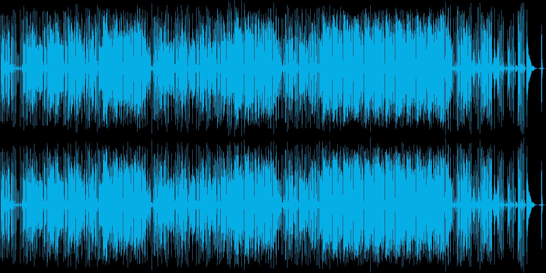 かわいい歌詞のポップスの再生済みの波形