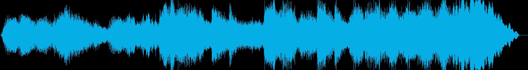 暖かな印象のクラシック楽曲の再生済みの波形