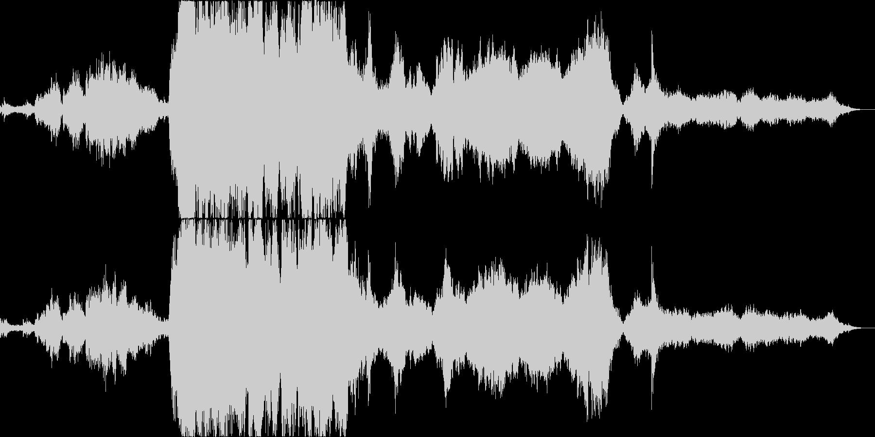 王道的な映画音楽オーケストラの未再生の波形