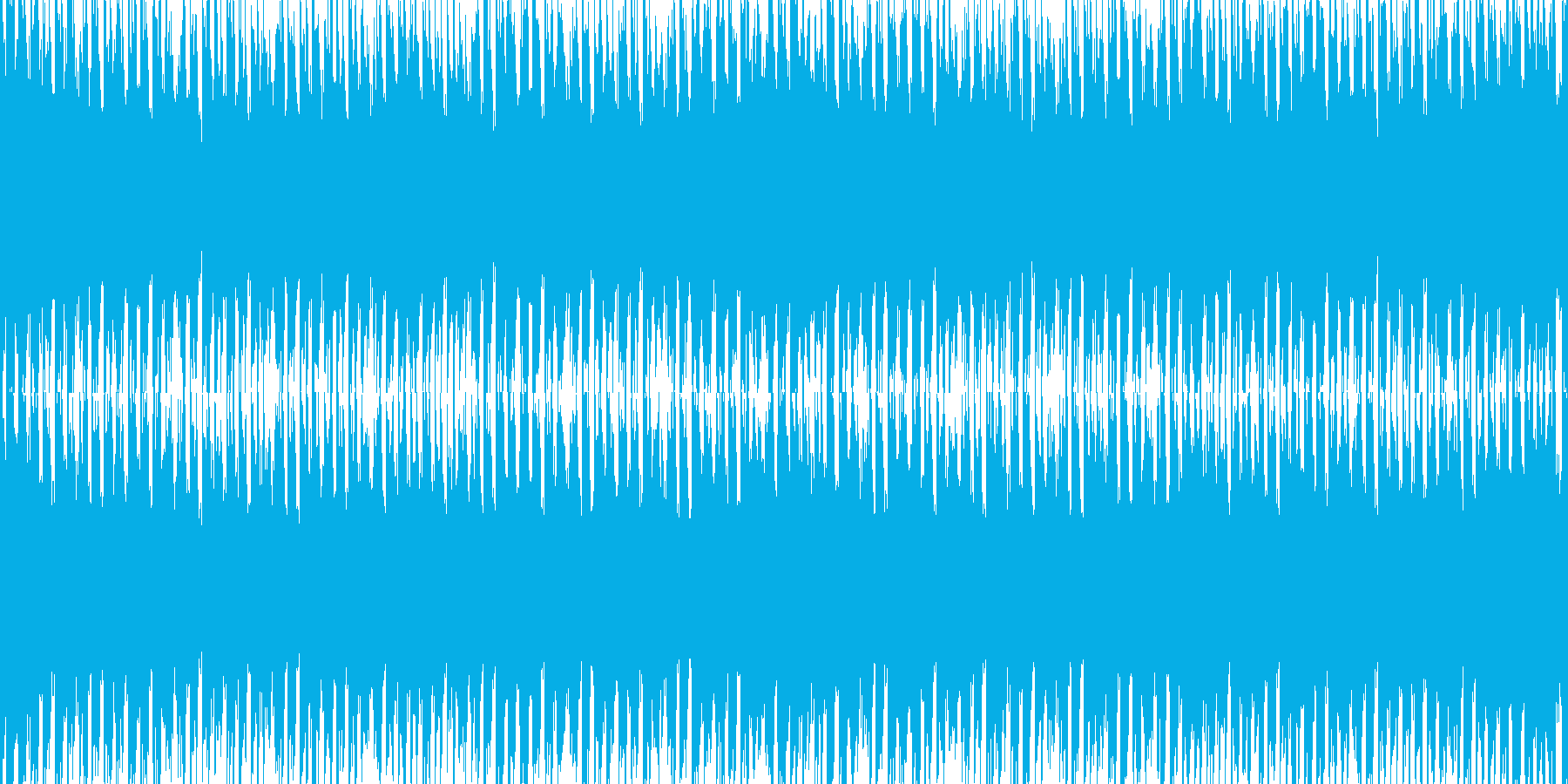 【EDMループ素材】企業・映像制作向きFの再生済みの波形
