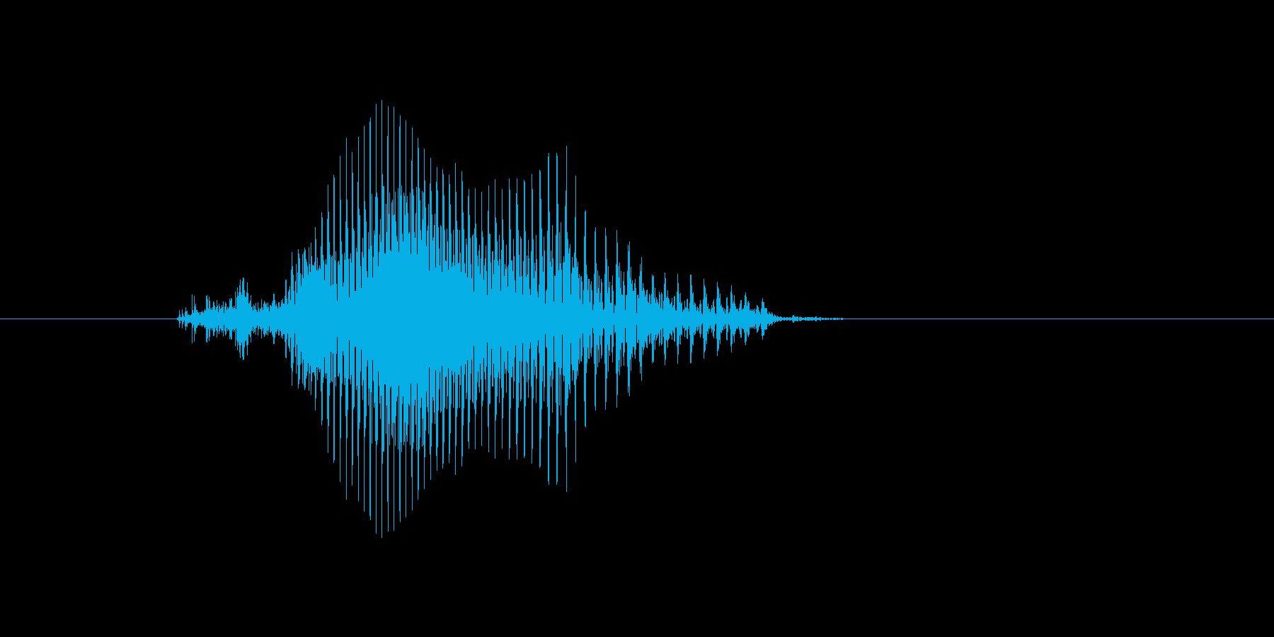 k,K,k(ケイ)の再生済みの波形