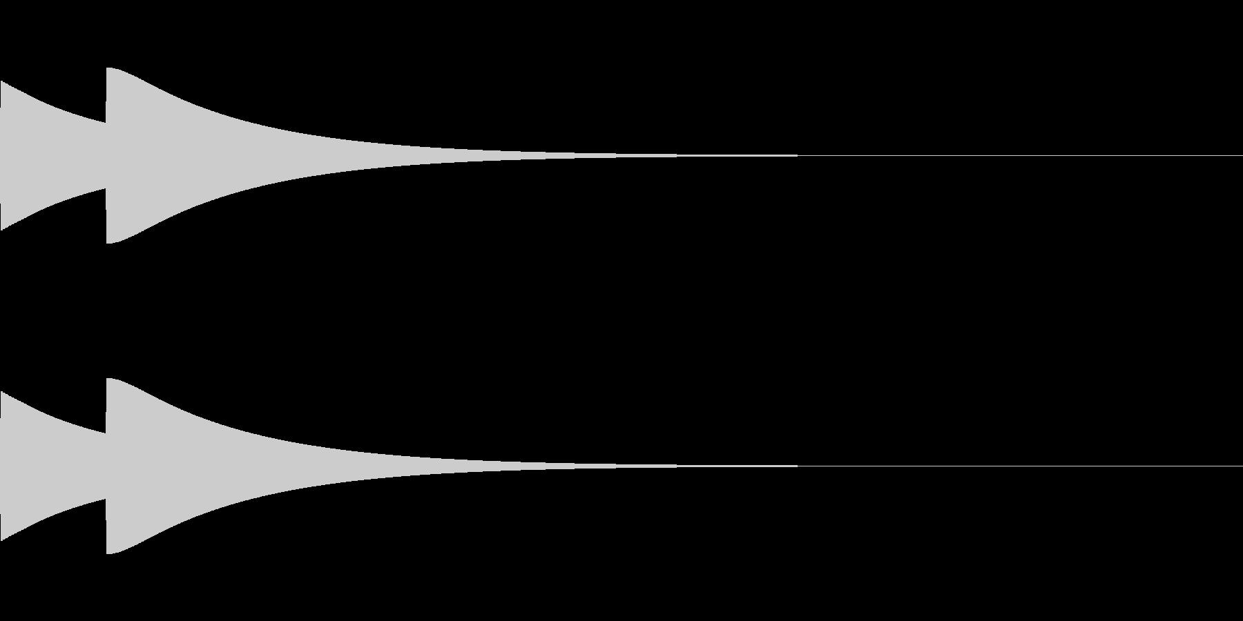 ベル/ポポン/システム/金属/2の未再生の波形