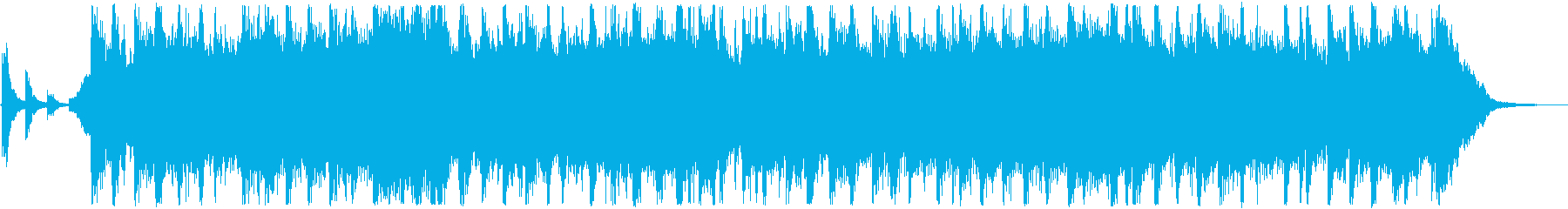 ハイテンションで派手なジングルベルの再生済みの波形