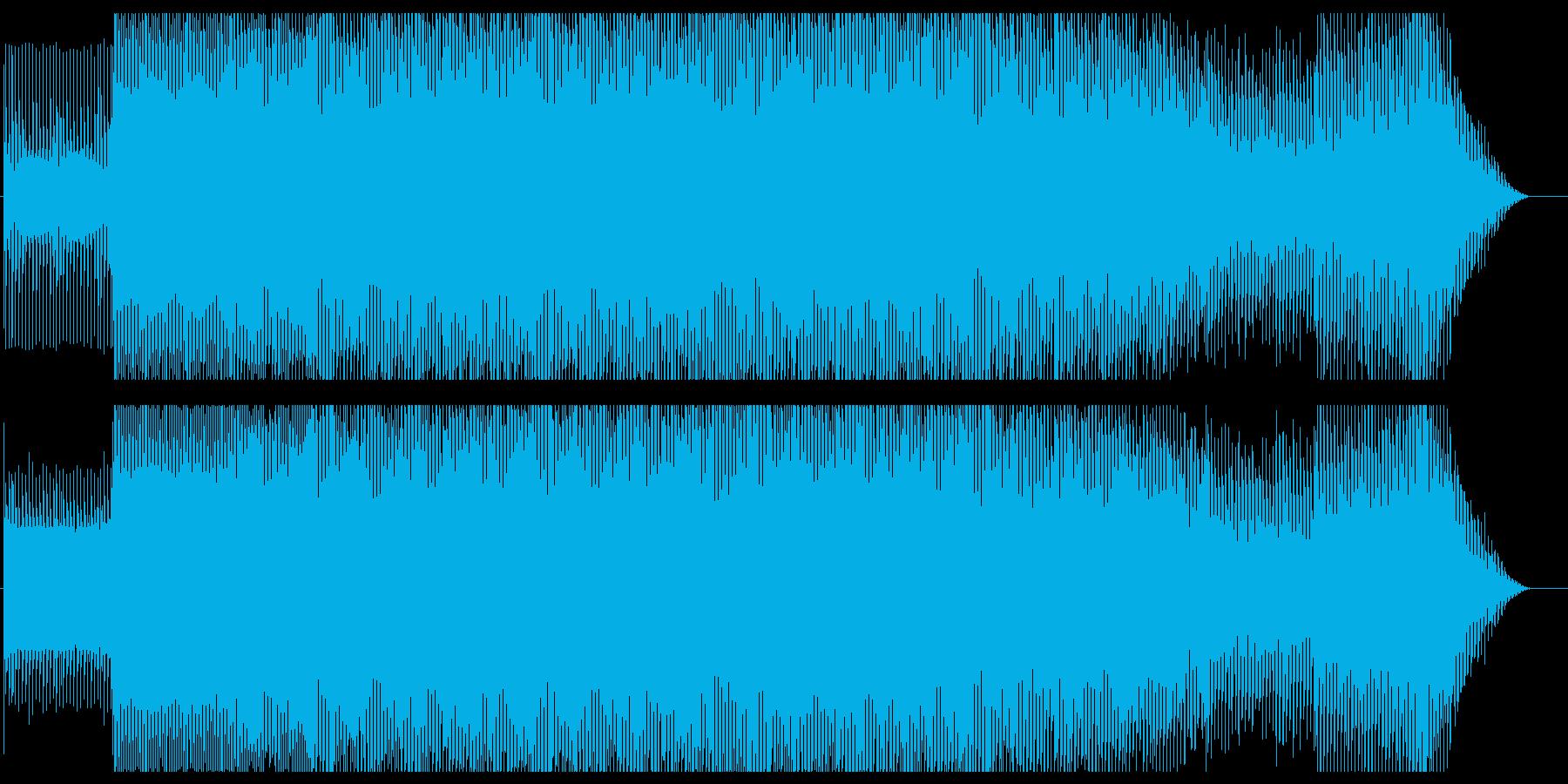 TRANCE 01の再生済みの波形