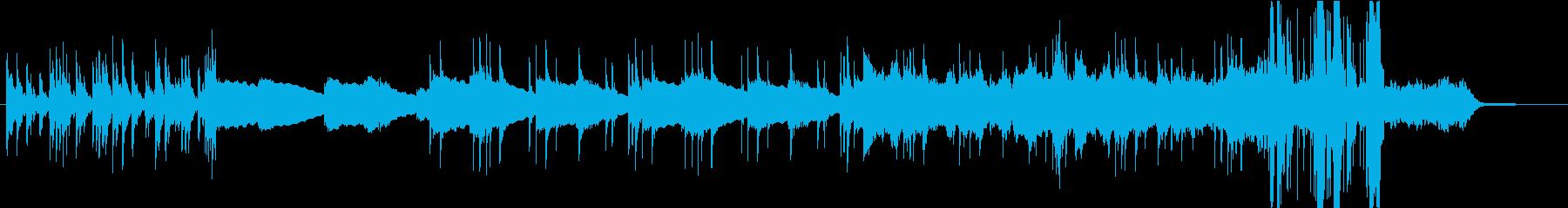 メロウなエレピと複雑なドラムのインストの再生済みの波形