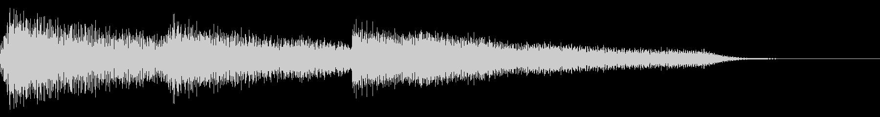 多用途ジングル-4の未再生の波形