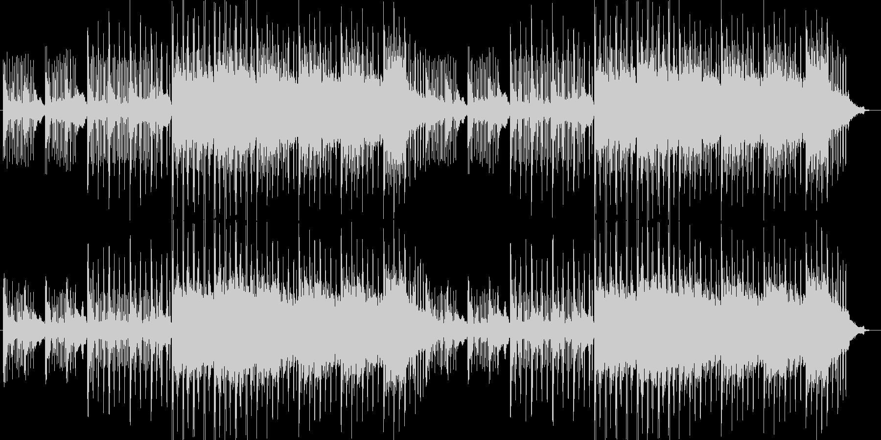 エレクトロニカでオシャレな曲の未再生の波形
