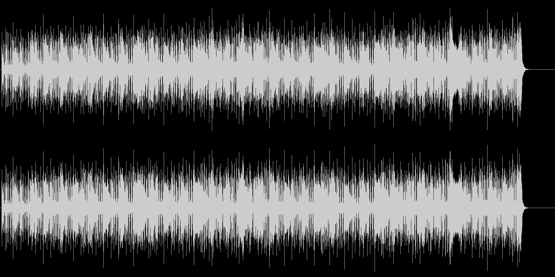 ファンキーな60's風ジャズ/ソウルの未再生の波形