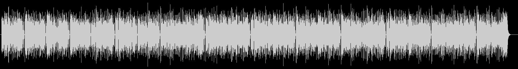 明るく可愛いシンセサイザーサウンドの未再生の波形