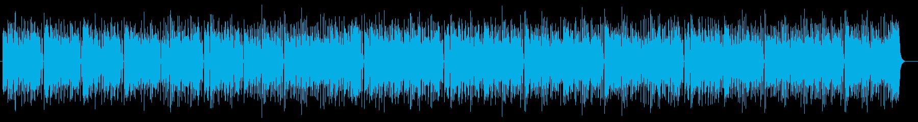 明るく可愛いシンセサイザーサウンドの再生済みの波形