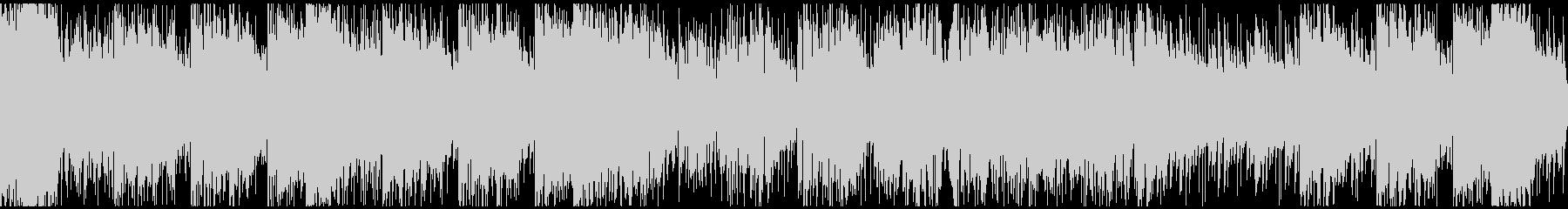怪盗系ハードボイルドジャズ ※ループ版の未再生の波形