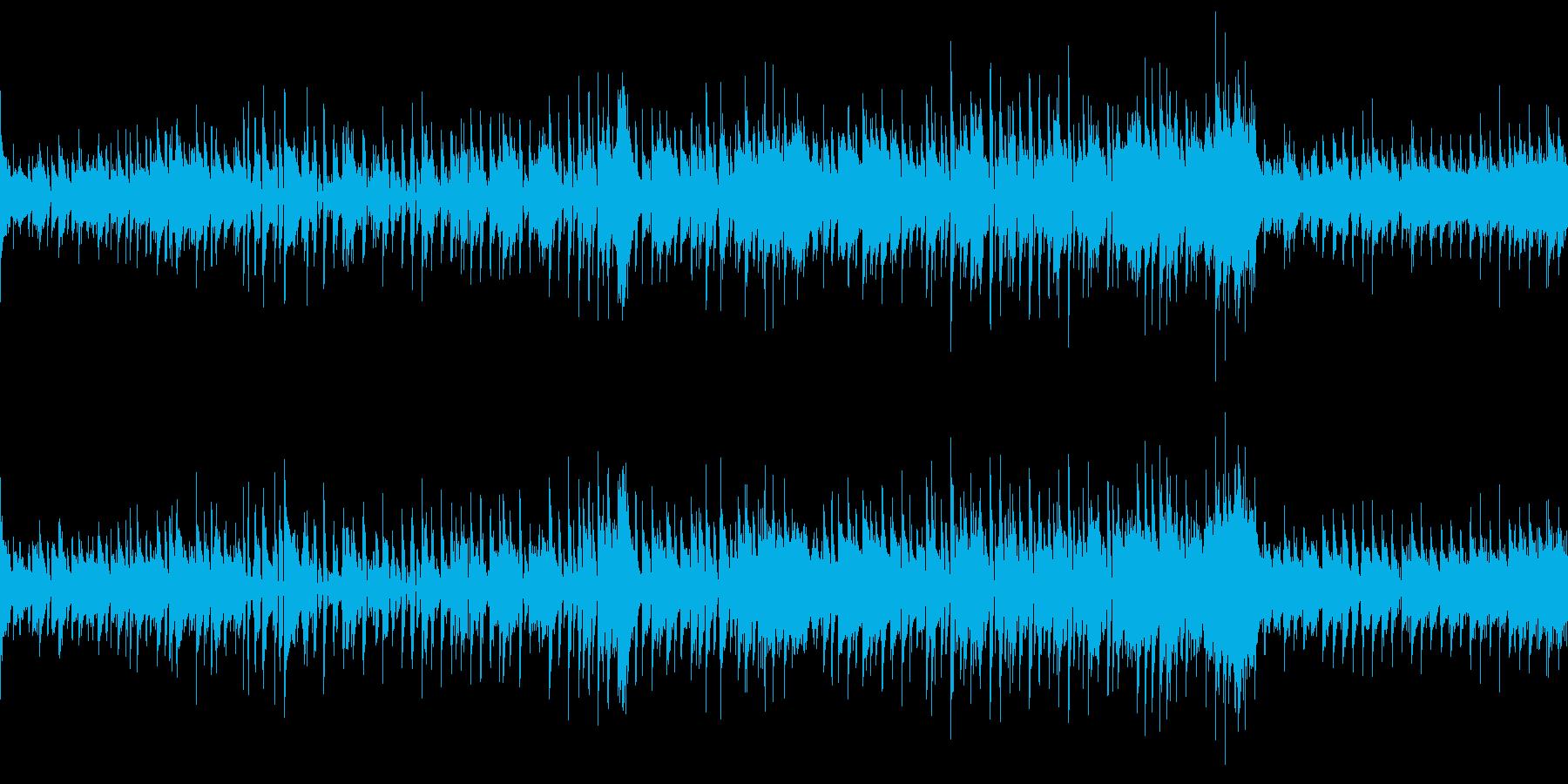 大人な雰囲気のジャズ (ループ仕様)の再生済みの波形