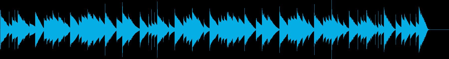 カルメン 前奏曲(オルゴール)の再生済みの波形