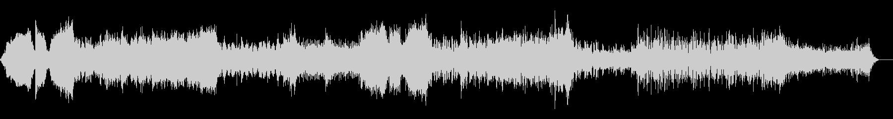 ハイブリットなムービートレーラーの未再生の波形