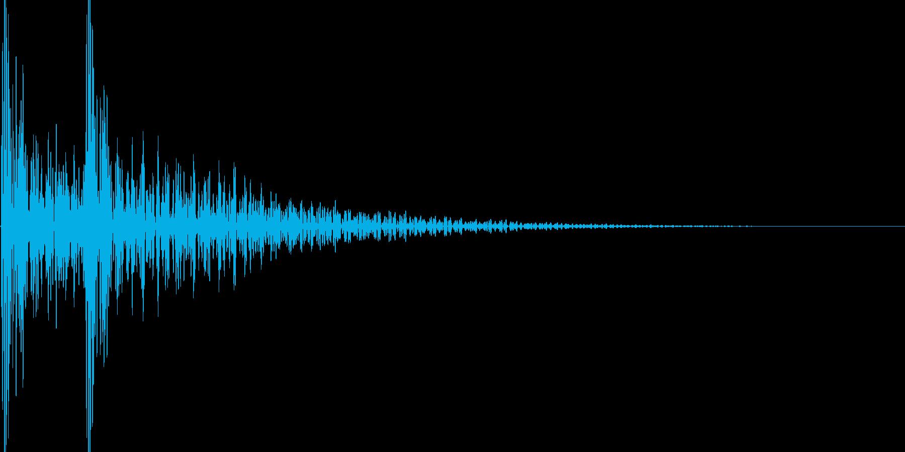 ドドンの再生済みの波形