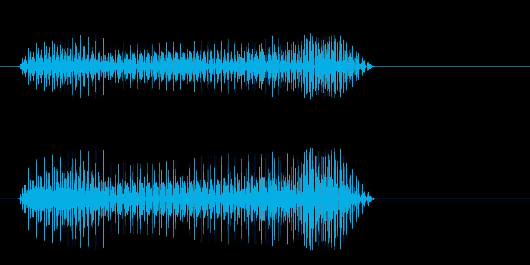 プヨォン(かわいい)の再生済みの波形