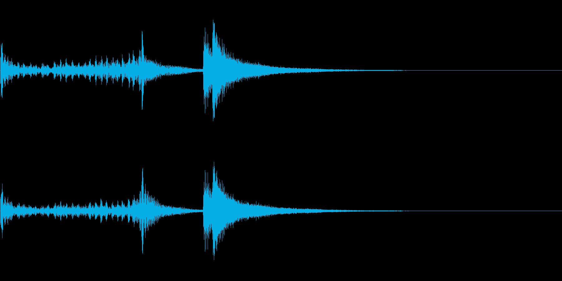 ティンパニーロール短+シンバル☆ドドン3の再生済みの波形