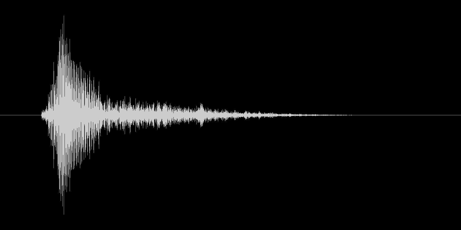 うっ!(Type-D)の未再生の波形