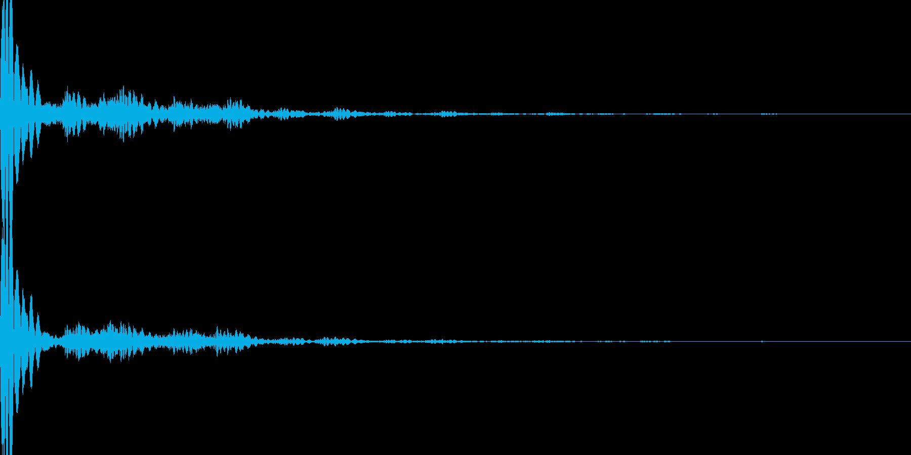 【Horror】移動【カーソル】の再生済みの波形