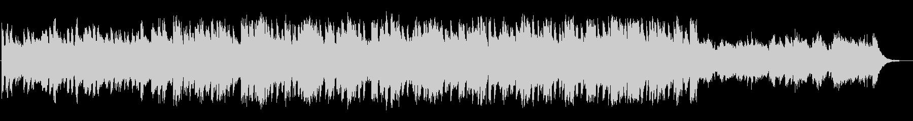 涼しげなピアノの映画BGMの未再生の波形