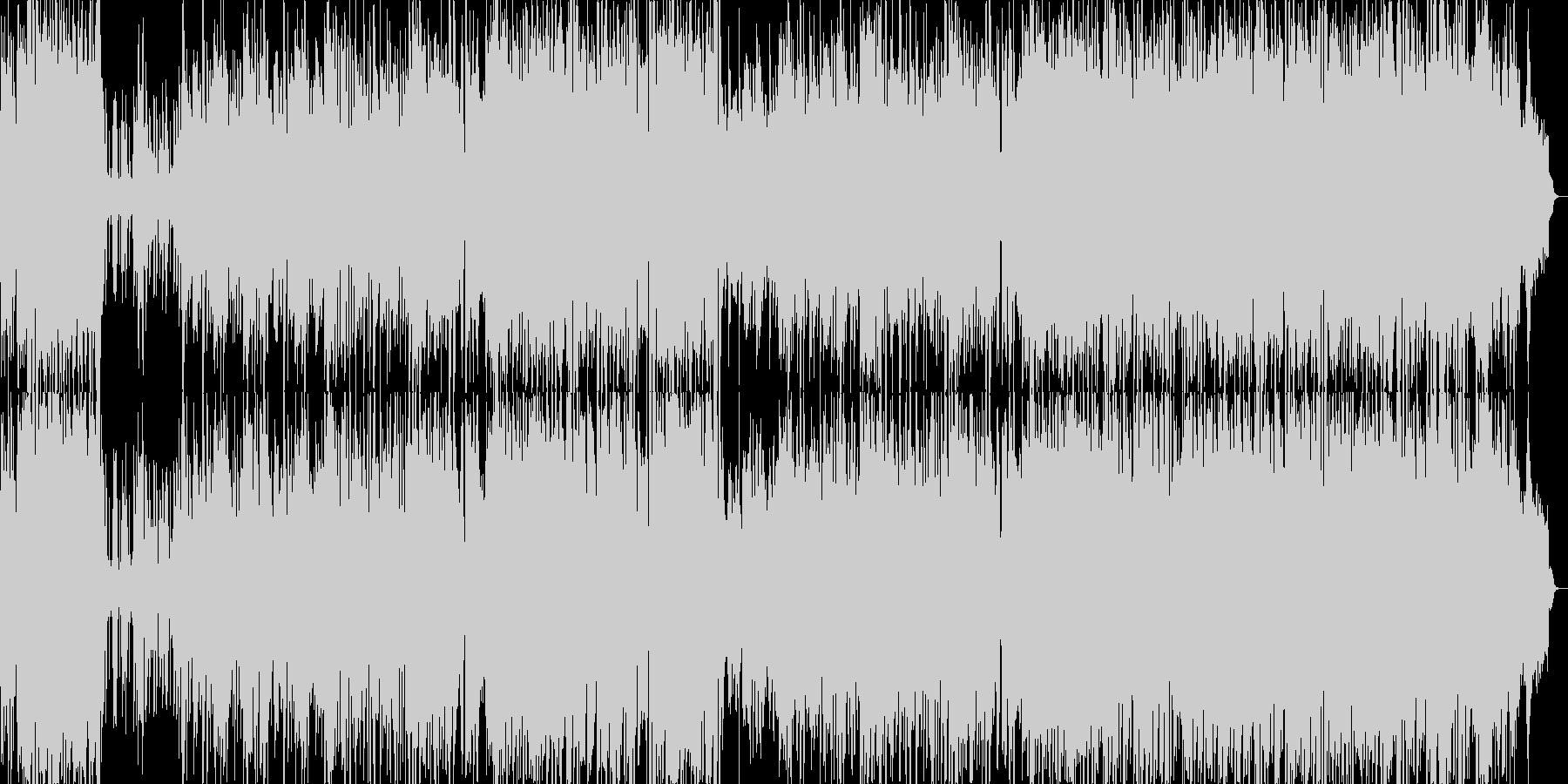 ポップでキャッチーな歌のも元気ピアノ繊細の未再生の波形