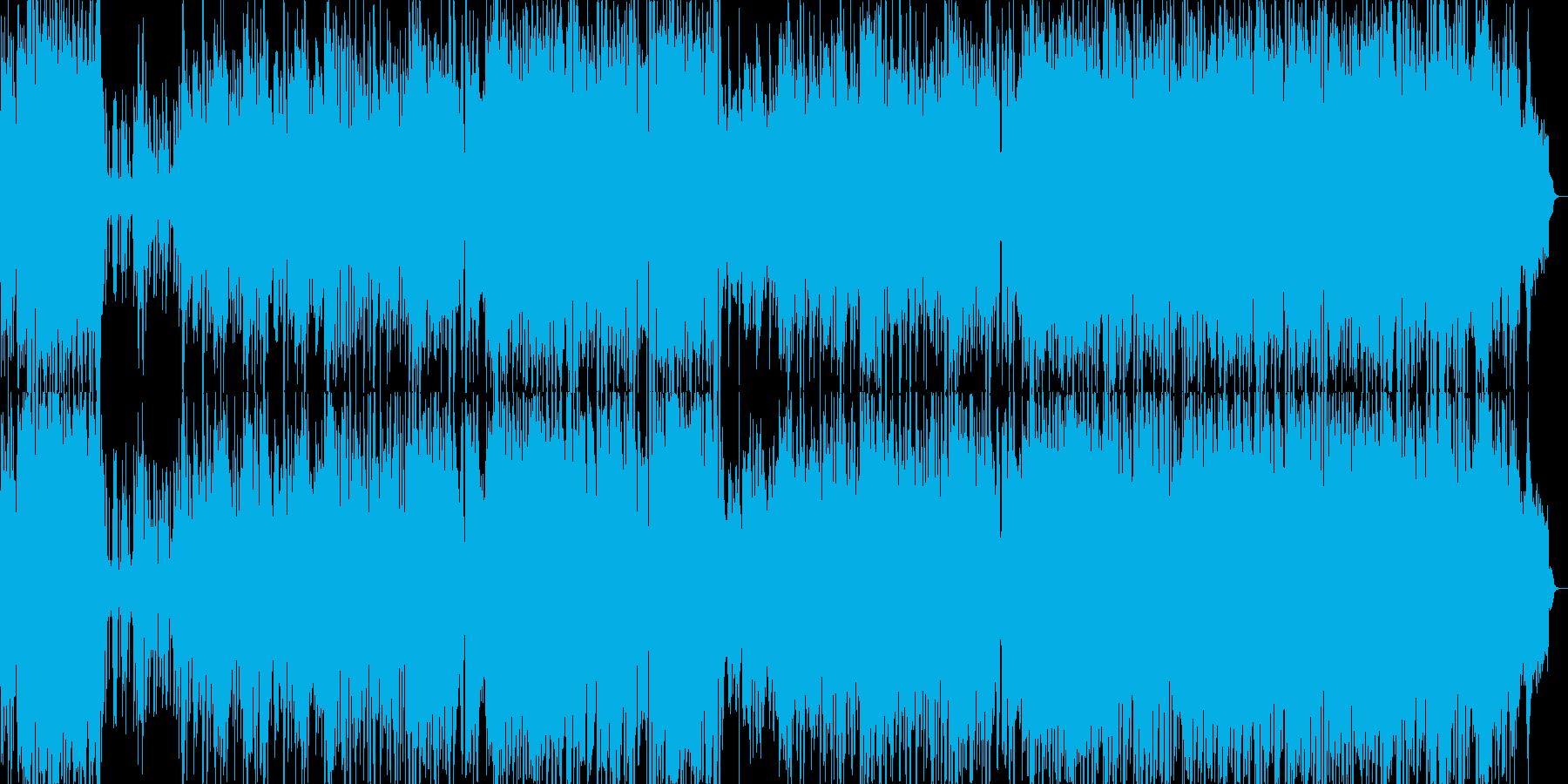 ポップでキャッチーな歌のも元気ピアノ繊細の再生済みの波形