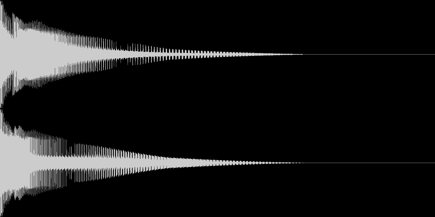 Henteko 可愛いクラッシュ音 2の未再生の波形