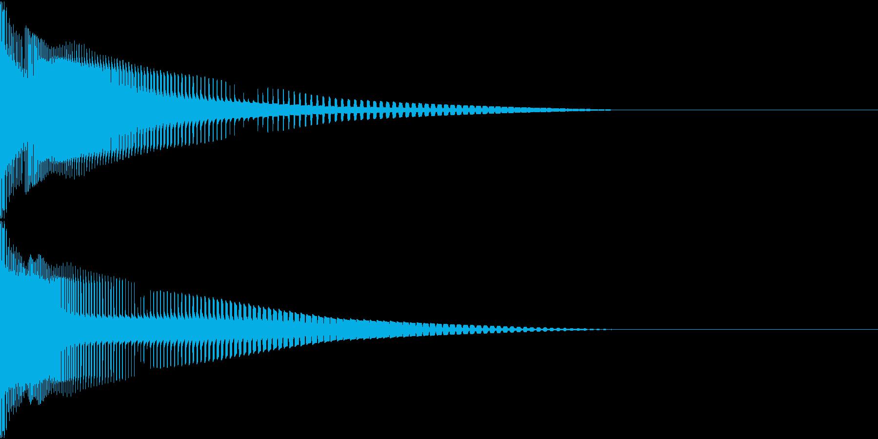 Henteko 可愛いクラッシュ音 2の再生済みの波形