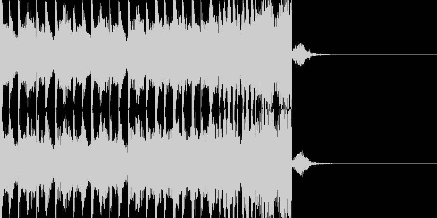 BPM128EDMビルドアップですの未再生の波形