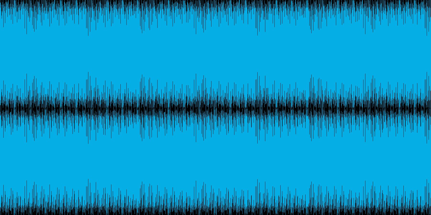 レジスタンス的ビートの再生済みの波形