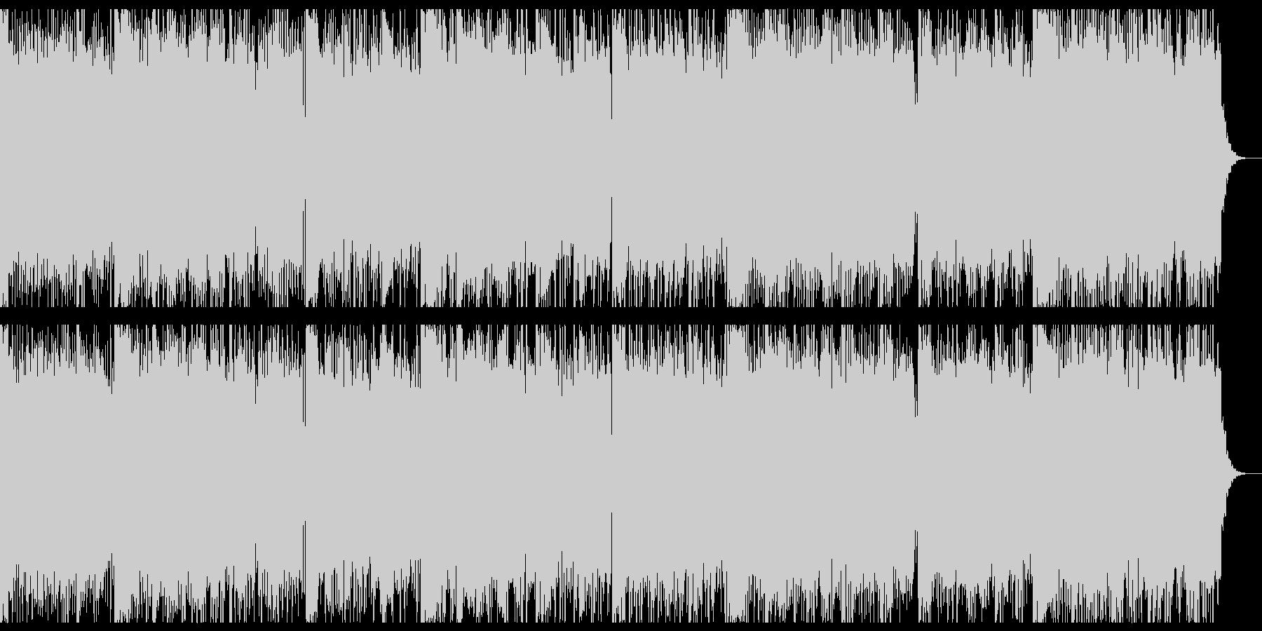 ちょっと切ないホラー音源の未再生の波形