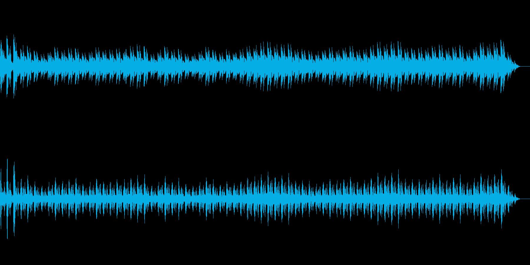 車のエンジン音1【ブロロロ・・・】の再生済みの波形