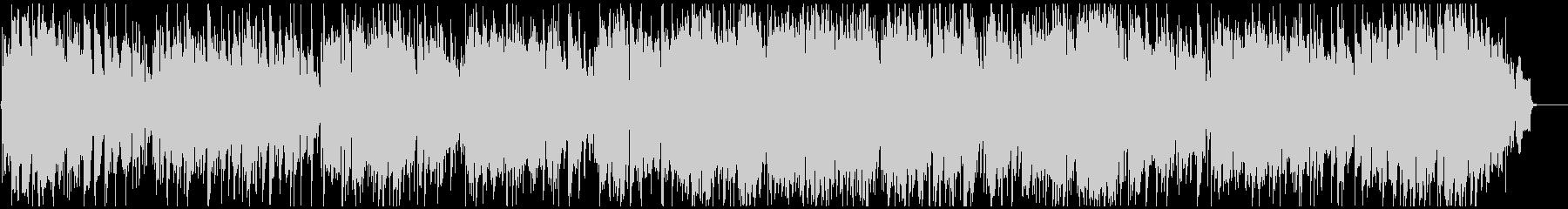 軽快なジャズワルツ ソプラノサックス生録の未再生の波形